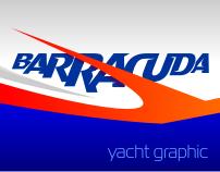 Barracuda Yacht Graphic
