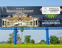 BINKOWSKI RESORT billboard