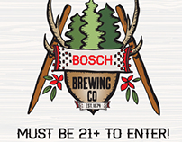 Responsive Website for Bosch Brewing Company