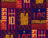 Blaugrana Posters Project