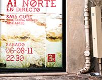 "Poster for ""Miradas al Norte"""