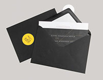 Bilingual Wedding Invitation