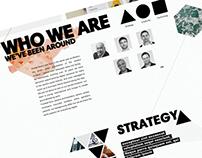 Digital Agency Web Sketch