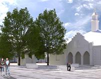 Concept design- revaluation of old Market in Zakliczyn