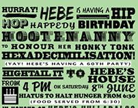 Hebe's Hexidecimal Hootenanny!