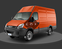 Iveco Global Site - Concept