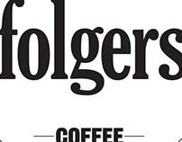 New Folgers Logo & Branding