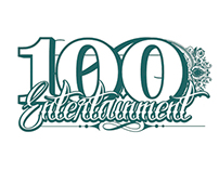 100 Entertainment logo