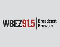 WBEZ Broadcast Browser