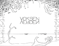 Voksenverden – A Hand Drawn Poem Collection