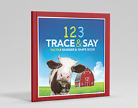 123 Trace & Say Children's Book