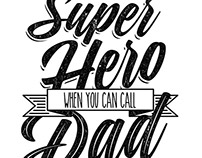 Who needs a super hero? When you can call dad