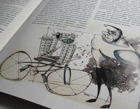 Pan Magazine Illustration