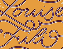 Louise Fili Lettering Tribute