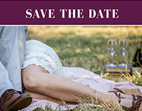 Save the dates  |  Wedding stationary