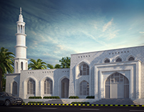 Mosque Exterior Visualization