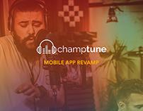 Champtune Mobile App Revamp