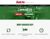 Kwik Fix Waste Skips Website