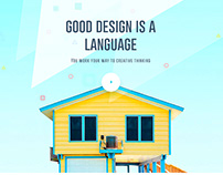 2017-2018 Design Language : Good design is a language