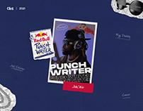 Punchwriter — Red Bull