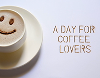 International Coffee Day Ad Stop Motion