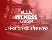 Fitness Concept - Création du site web