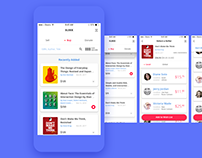 UI/UX for a book selling app