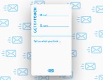 Daily UI No. 28 | Contact Us #DailyUI #028