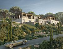 Provençale Villa by Caprini&Pellerin