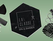 La Classe Spa & Barber Branding