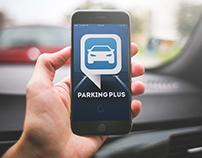 ParkingPlus UI&UX APP / Webdesign