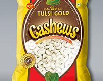 Packaging designs, warpper packaging cashew packet