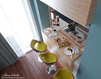 Modern | Open Kitchen