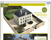 Site promotionel de la Villa Jean-Jacques Rousseau