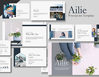 Free Ailie Powerpoint Template