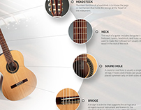 Guitar Centar - Web design template