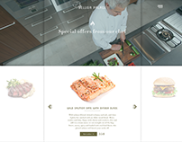 Bakery Cafe & Restaurant UI/UX Design