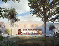 Competition for New building for Warsaw University