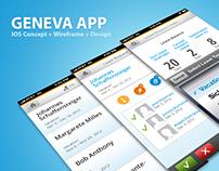 Geneva - IOS App Design