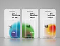 Port. Deodorant for you