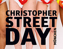 Christopher Street Day Plakat München 2014