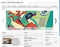 Zeitkunst Verlag: WebDesign