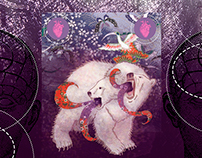 Bi-Polar Bear: song cover illustration.