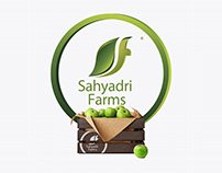 Sahyadri Farms Jar & Bottle Packaging Design