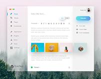 WordPress Mac Client Concept