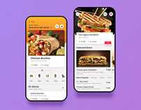 Chaay Vaay - An Online Food Delivery app Concept