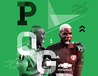 Manchester United Match Day Posters 2016/17