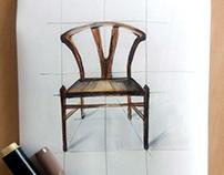 Наброски мебели, Sketch of furniture