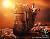 Kangaroo bag / Mother's day