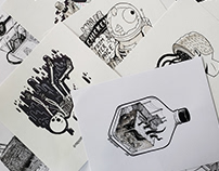 Madkobra's Inktober 2018